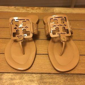 Tory Burch Patent Miller Sandals